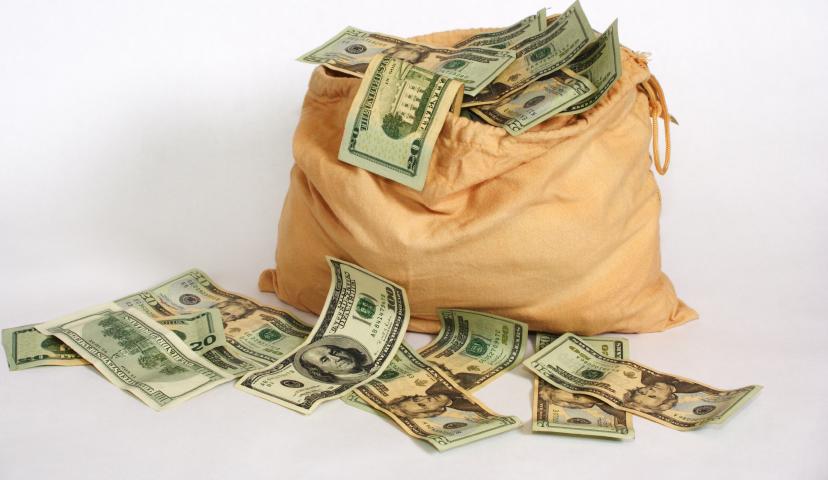 Money Bag (PSD)   Official PSDs