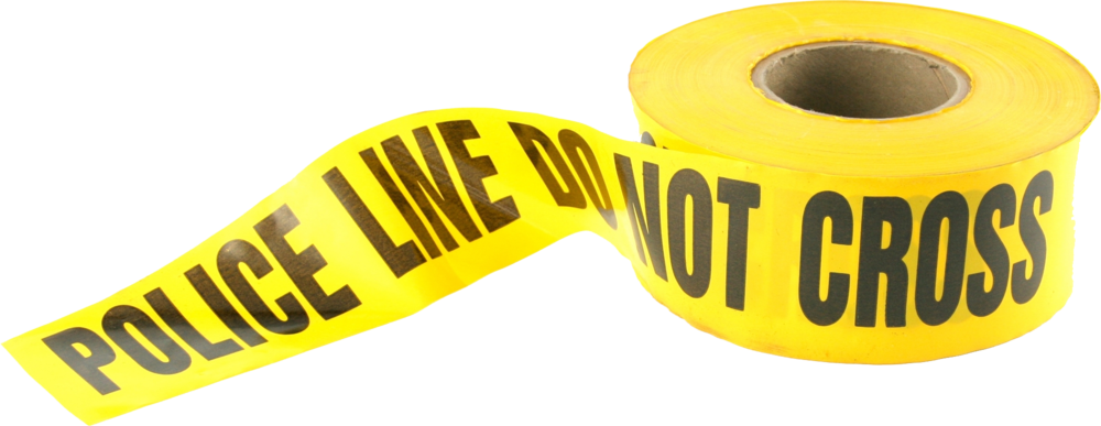 Police Tape Hd (PSD)   Official PSDs