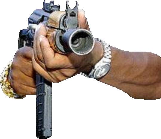 Gun In Hand (PSD) | Official PSDs