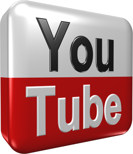 3d Youtube Logo (PSD) | Official PSDs