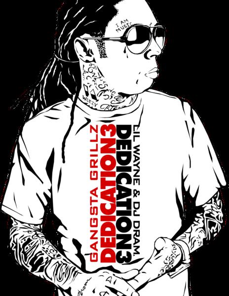 Lil Wayne Dedication 3 Vector Psd19140 Roblox Lil Wayne Dedication 3 Vector Wtext Psd Official Psds