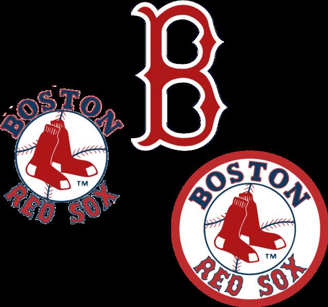 Boston Red Sox Logos PSD