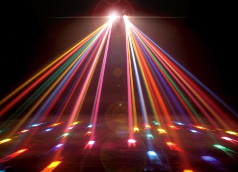 Dance Floor Club Party Lights PSD