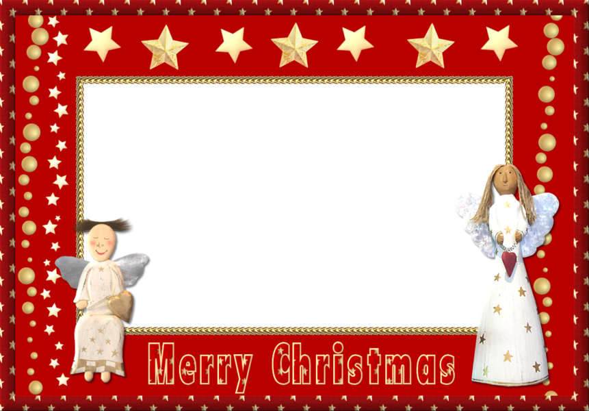 Merry Christmas Frame (PSD) | Official PSDs