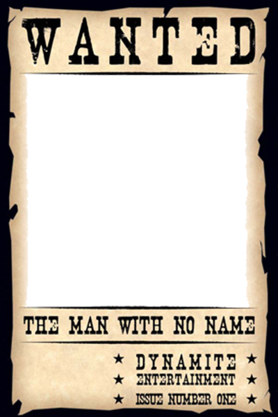 Blank Wanted Poster PSD