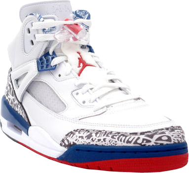 d3cbe6cacf867a Air Jordan Spizike White Red Blue 2 (PSD)