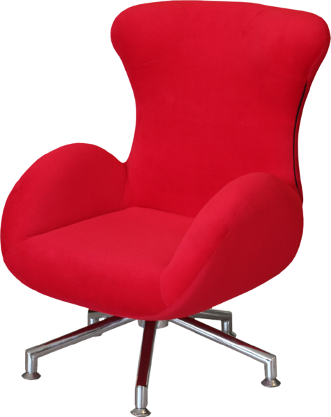 Red Desk Chair (PSD) | Official PSDs