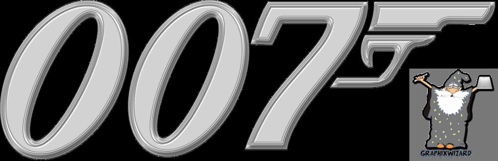 james bond 007 logo psd official psds