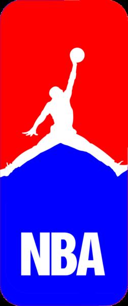 Marvelous Michael Jordan Nba Logo (PSD)