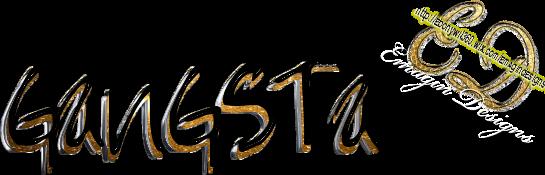 gangsta logo psd official psds