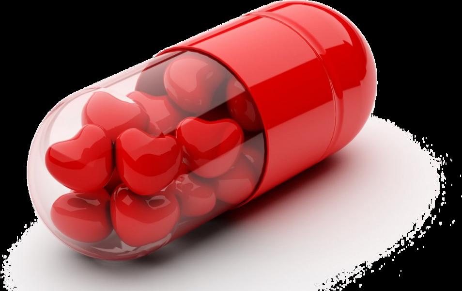 Открытки, открытки про таблетки