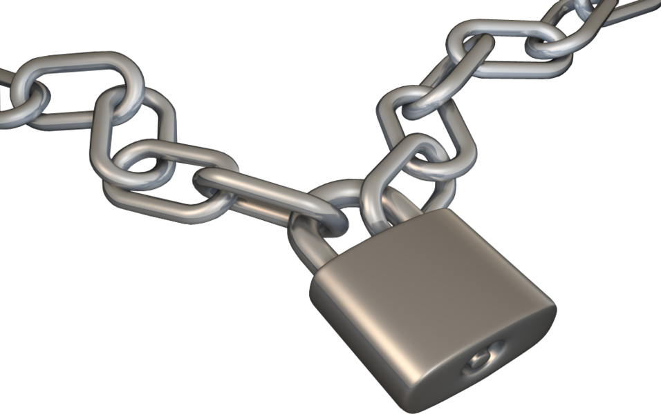Chain And Lock (PSD)   Official PSDs