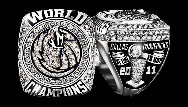 The Dallas Mavericks 2017 Championship Ring Psd