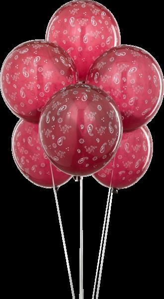 Red Bandana Baloons (PSD)   Official PSDs