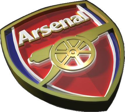 Arsenal 3d Logo (PSD)   Official PSDs