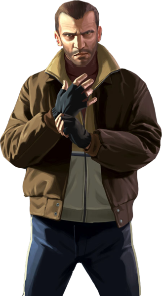 Niko Bellic High Quality Psd Official Psds