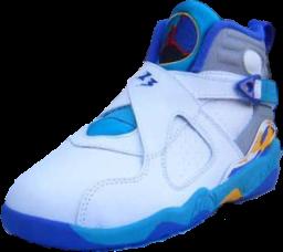 quality design 6b725 b3f48 Jordan 8 Light Blue Yellow (PSD) | Official PSDs