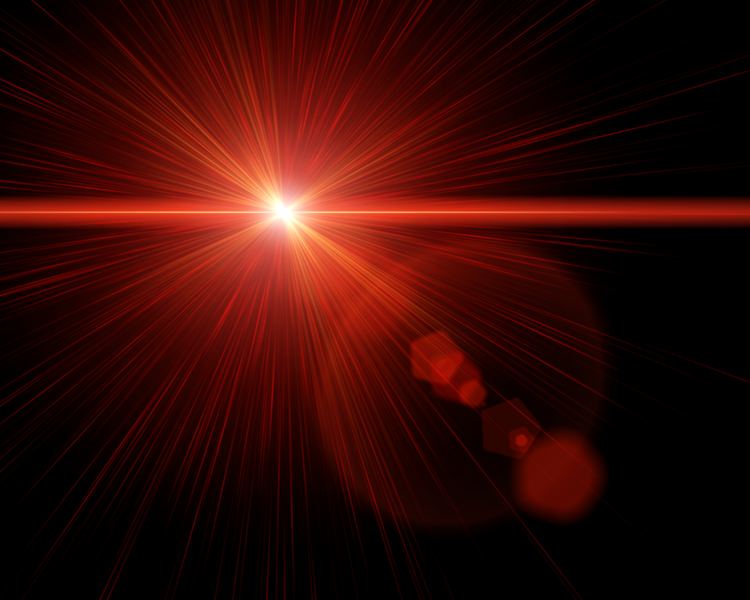 how to add lens flare in pixlr