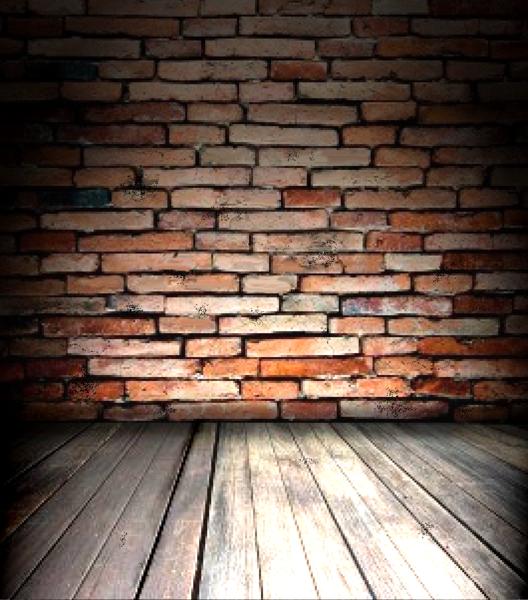Brick Wall Wood Floor Backdrop Psd Official Psds